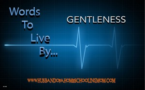 Words to Live By... Gentleness